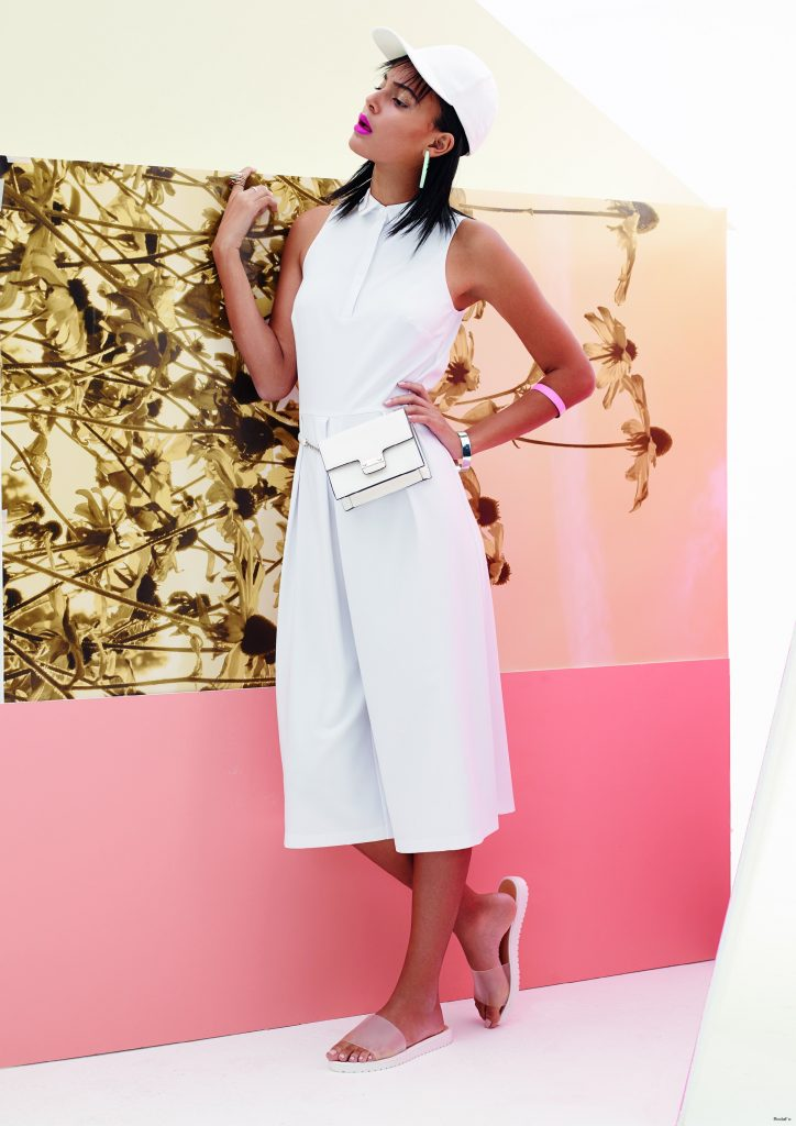 1. The white culottes jumpsuit | THE GLOSS DAILY