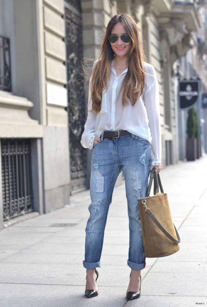 Boyfriend Jeans Are In Style For 2015