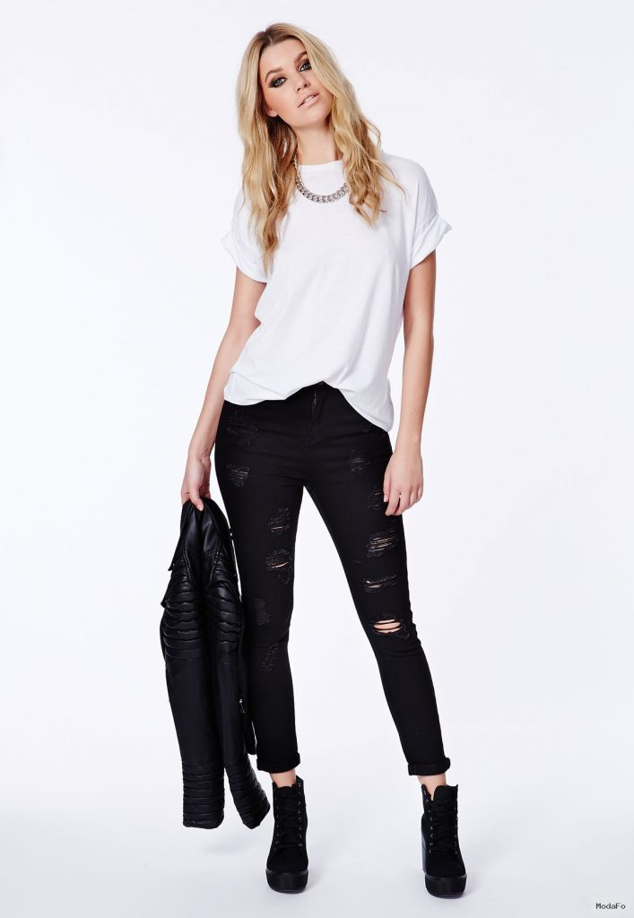 Ripped Skinny Jeans Make You Look In Brave Appearance | StyleDir
