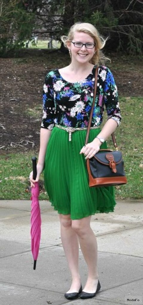 Looks on Campus: Jenna – Indiana State University – College Fashion