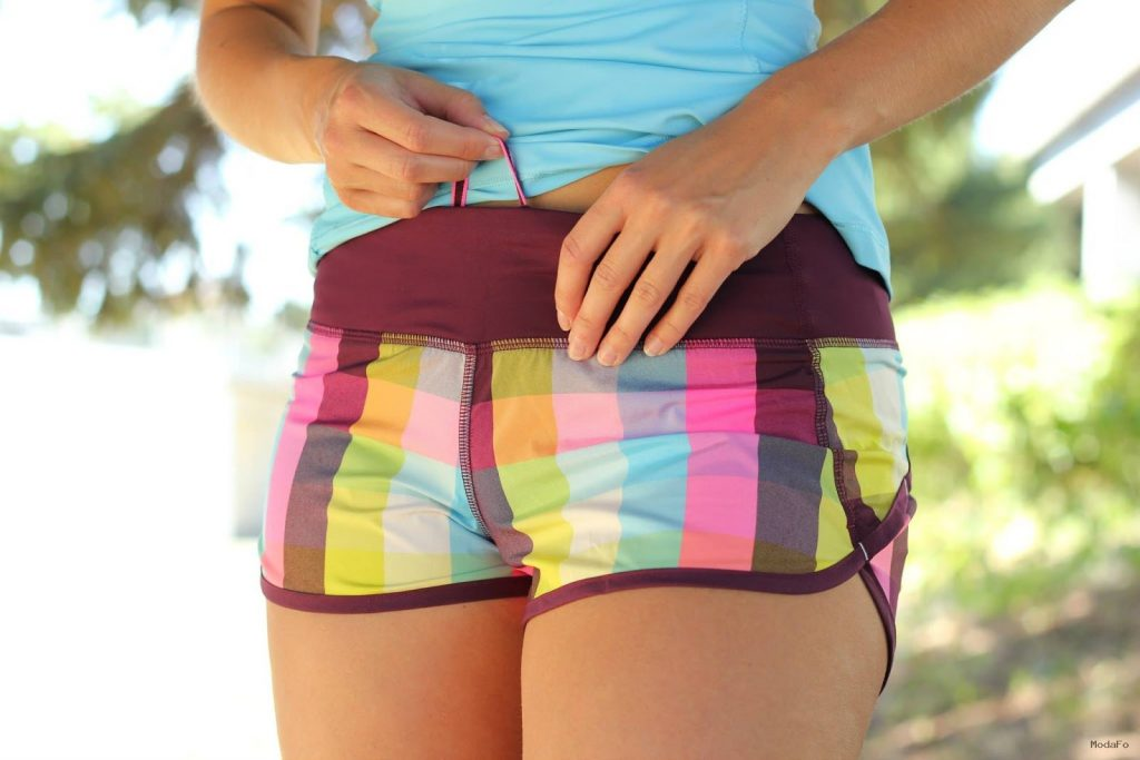 Lululemon Addict: More Sea Check Speed Shorts