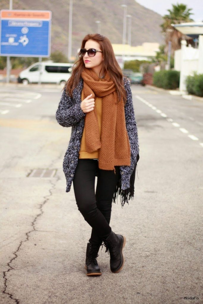 The Ideas of Late Winter Style For Women skirt
