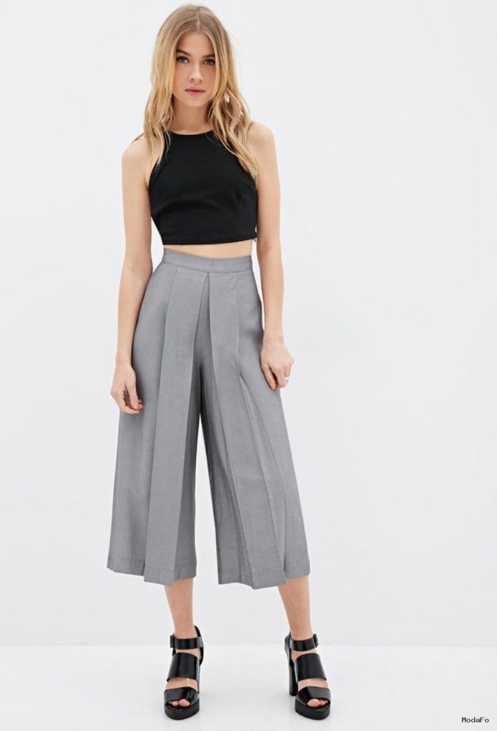 Culottes Pants and Shorts in Fashion Fashion Dips