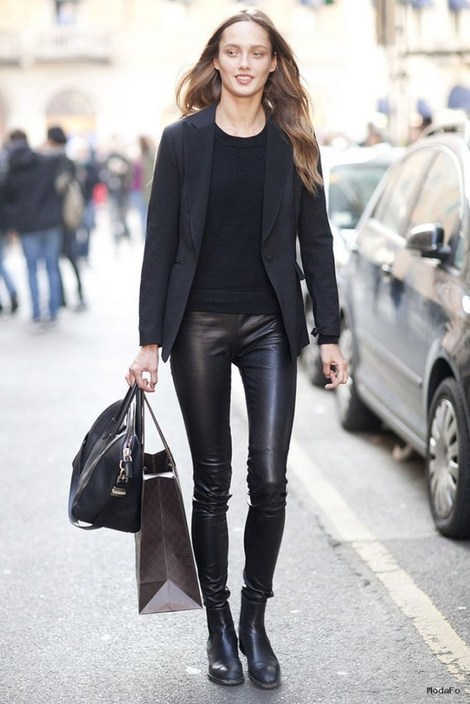 How To Wear LEATHER PANTS Anywhere? | Fashion Tag Blog
