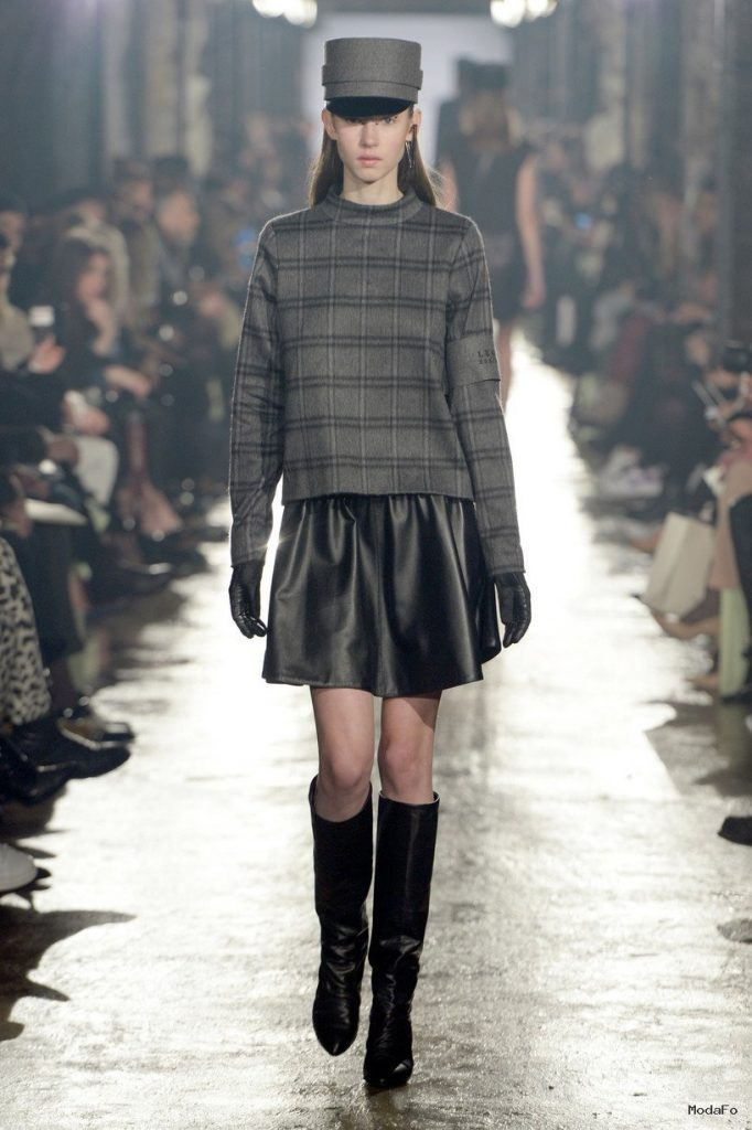 Leather Skirts For Autumn-Winter 2014-2015 | WardrobeLooks.com