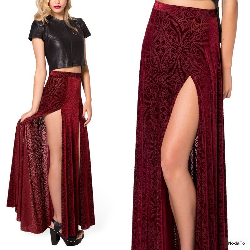 Long Velvet Skirt Reviews – Online Shopping Long Velvet Skirt …