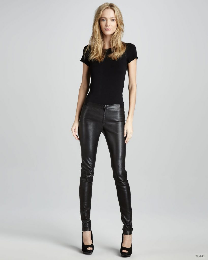 Sexiest Style with Leather Leggings – Chic's Style
