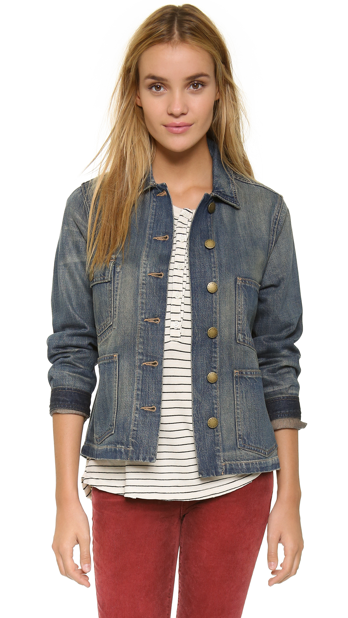 2016 Kot Ceket Modelleri ve Kombinleri 2016-Denim-Jackets-and-Coats-For-Women-16
