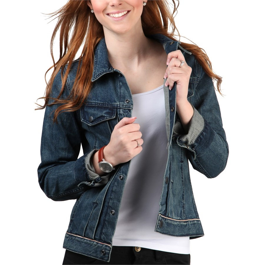 2016 Kot Ceket Modelleri ve Kombinleri Blue-Denim-Jacket-Women-Models