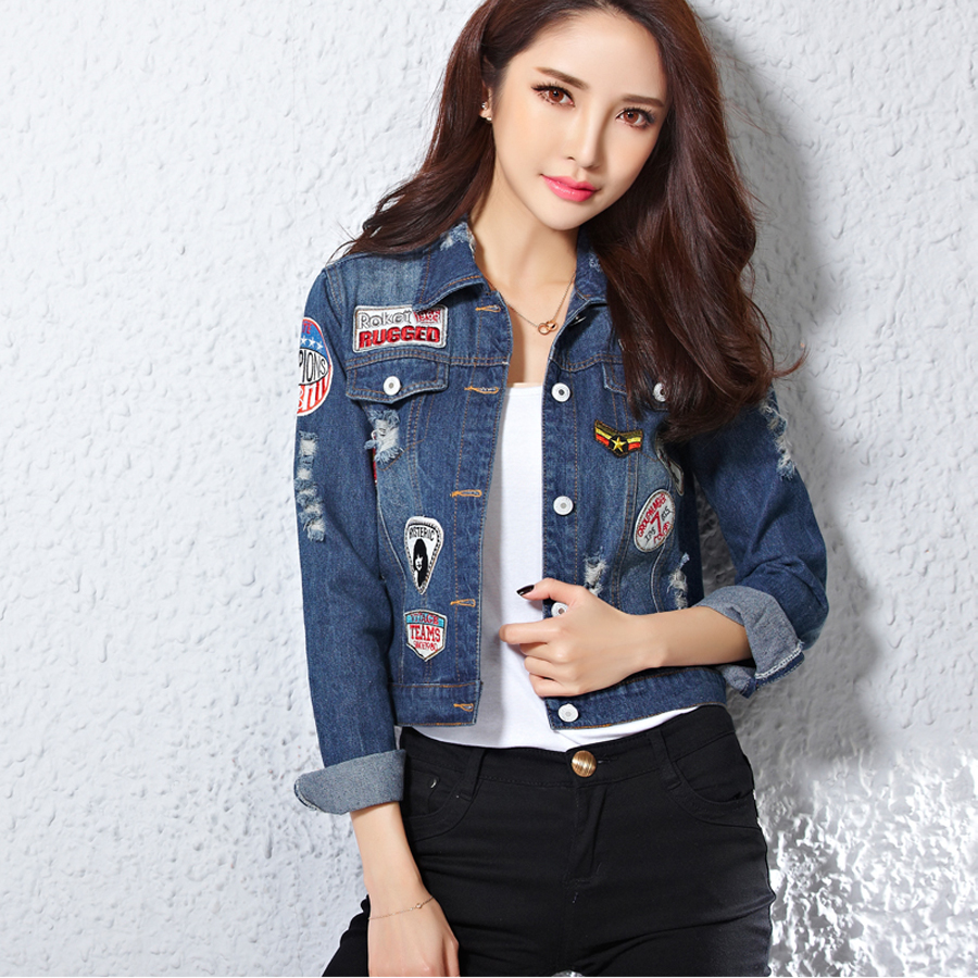 2016 Kot Ceket Modelleri ve Kombinleri Interesting-Denim-Jacket-Women-Models