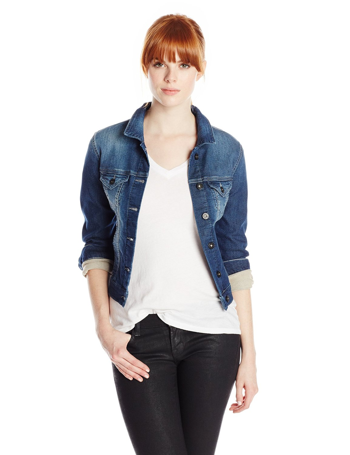 2016 Kot Ceket Modelleri ve Kombinleri Most-Beautiful-Denim-Jacket-Women-Models