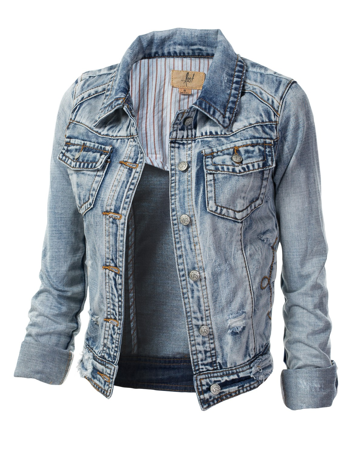 2016 Kot Ceket Modelleri ve Kombinleri Trend-Denim-Jacket-Women-Models