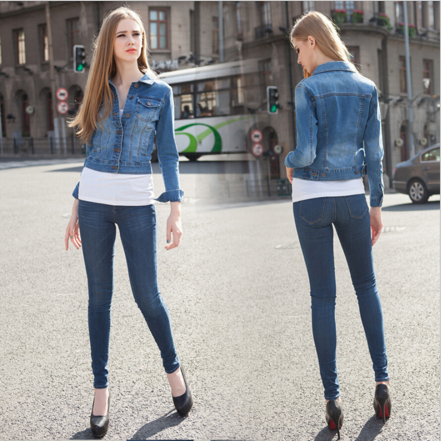 2016 Kot Ceket Modelleri ve Kombinleri Wonderful-Denim-Jacket-Women-Models