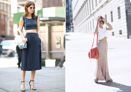 Yüksek Bel Etek modelleri - Anne-Rue-Interiors-Crop-Tops-and-High-Waisted-Skirts-15