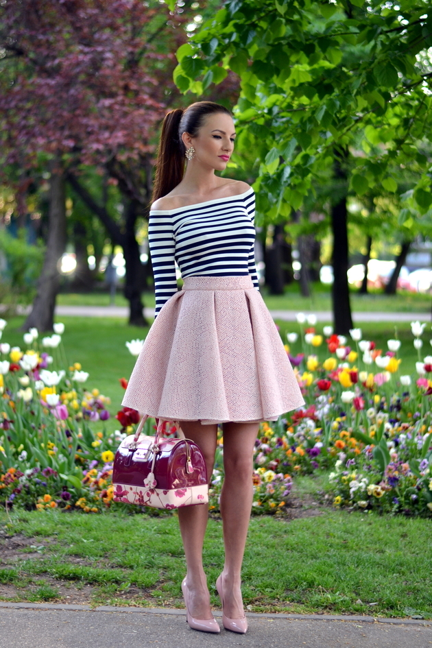 Yüksek Bel Etek modelleri - Spring-Inspired-Skirts-Outfits-Summer-Spring-High-Fashion-2016 - 2015-Trend-4