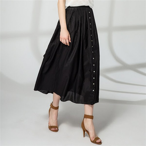 Yüksek Bel Etek modelleri - high waisted skirts trends 2015-2016