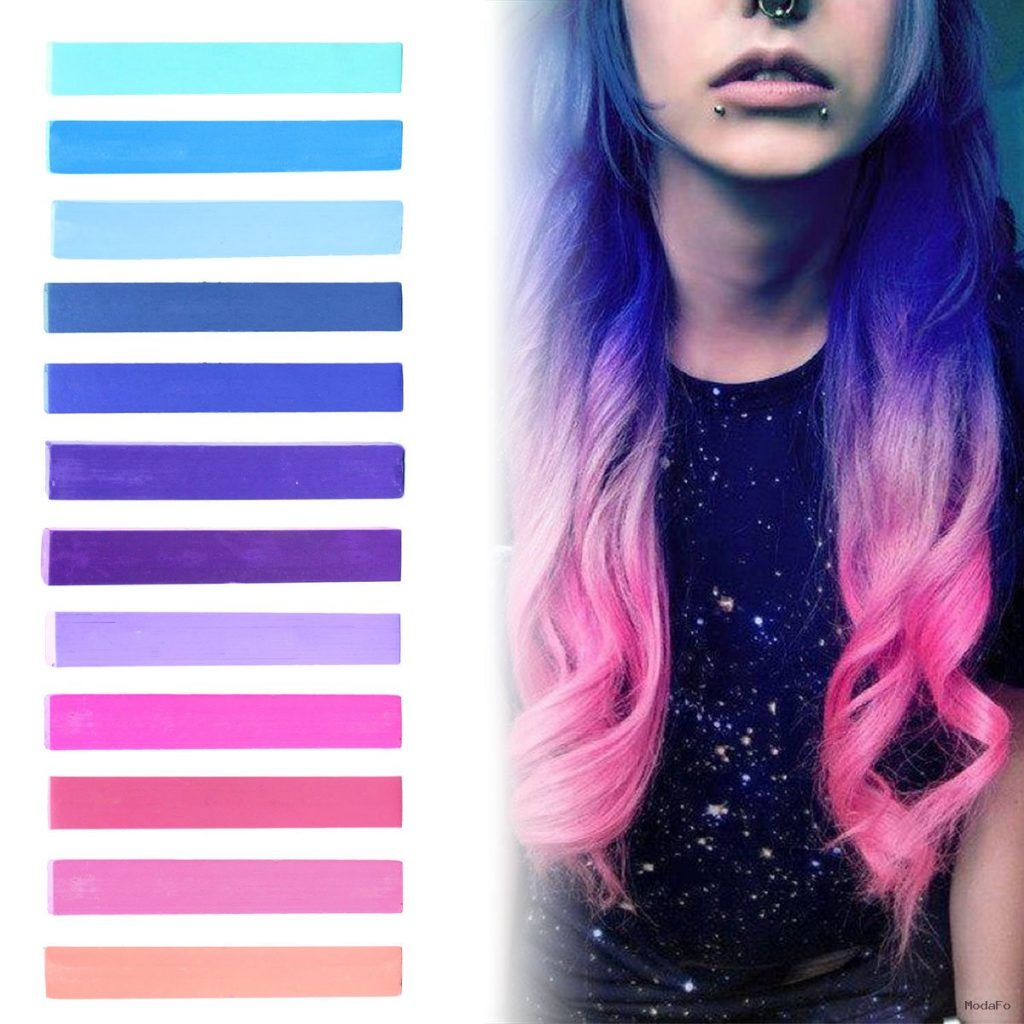 Best Galaxy Hair Dye Set | GALAXY Ombre Hair Color Set of 12 | DIY …