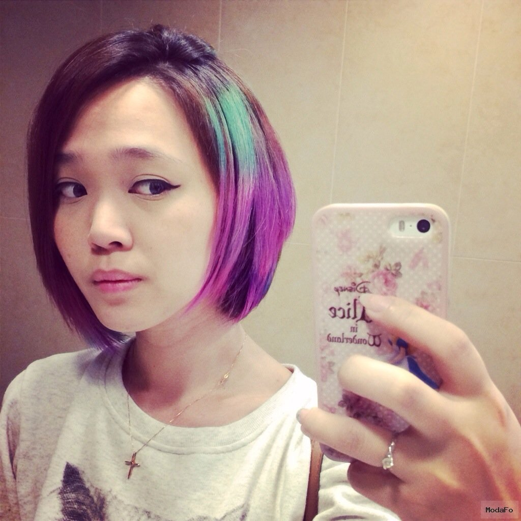 New Galaxy Hair Colour at 99 Percent Hair Studio