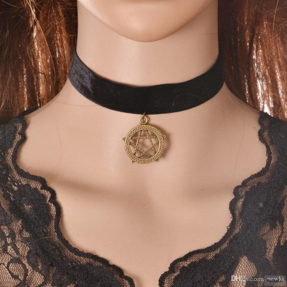 2016 Newki New Fashion 9 Styles Women Chokers Hot Sexy Black Lace …