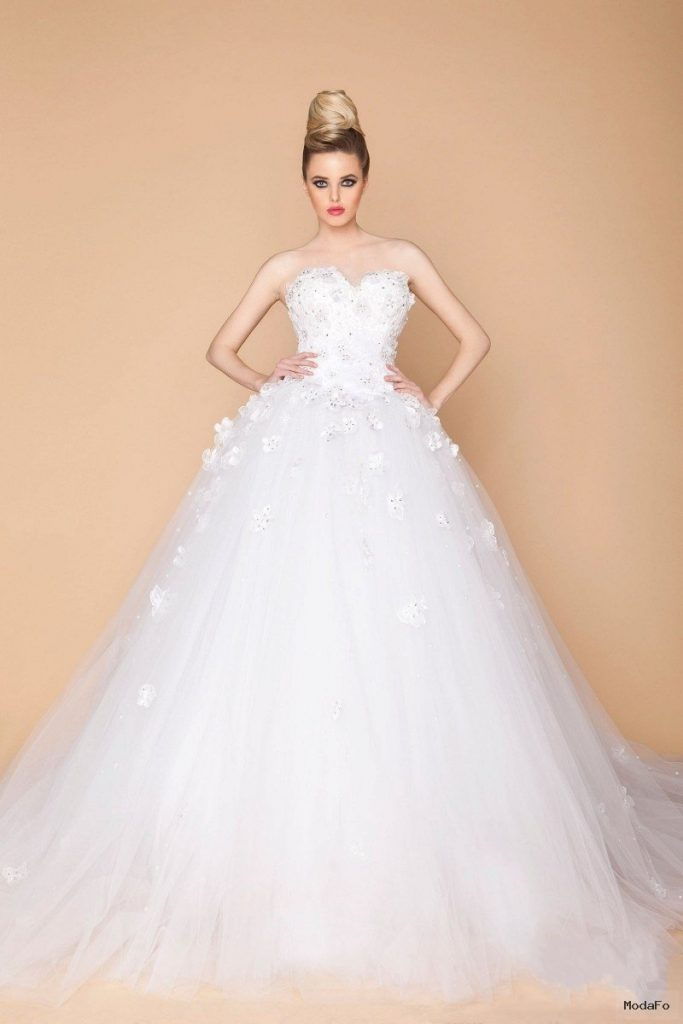 Aliexpress.com : Buy 2015 White Ball Gowns Princess Wedding …