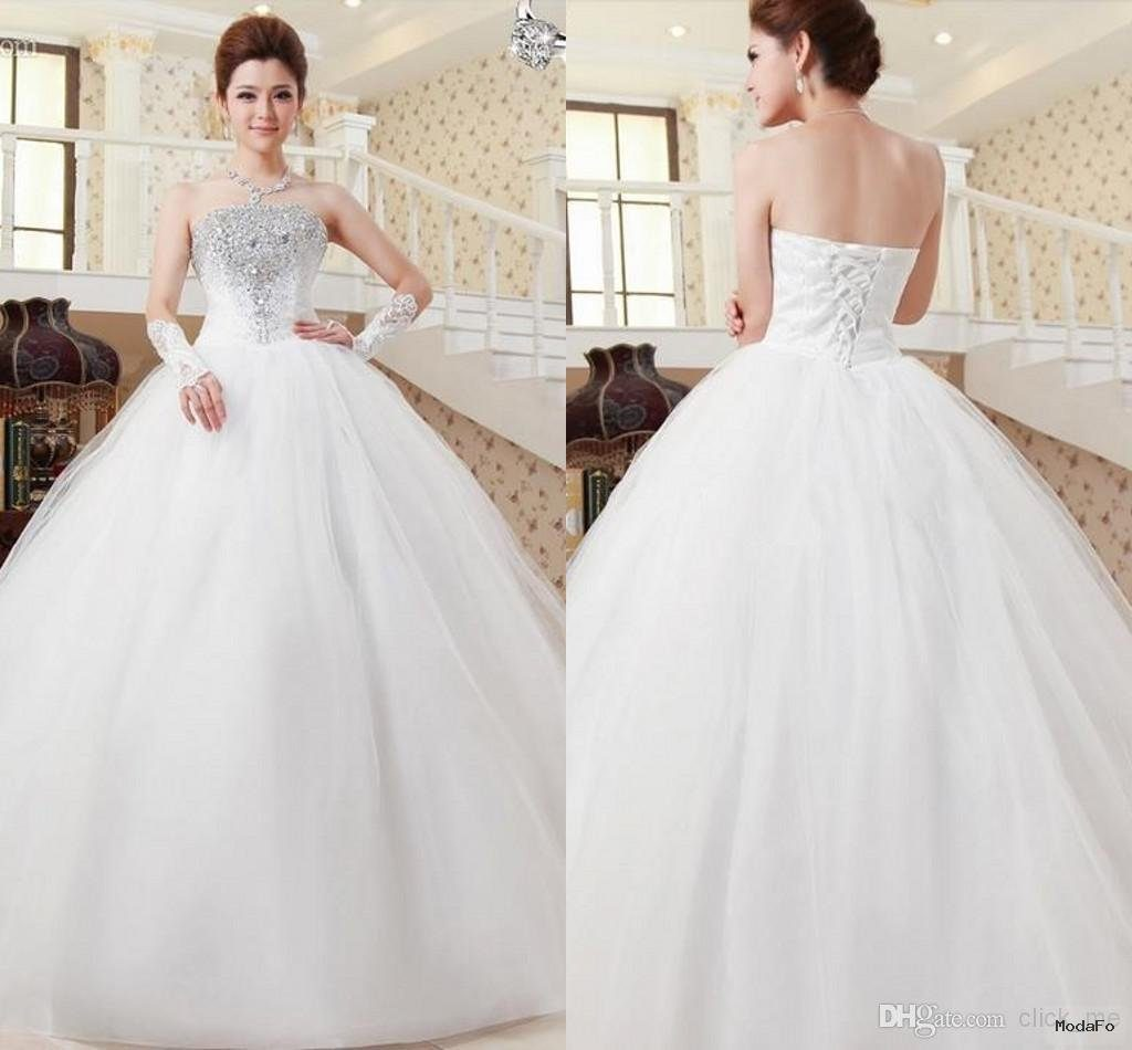 wedding dresses sweetheart neckline princess ball gown strapless …