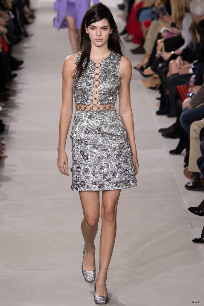 KENDALL JENNER at Michael Kors Fall 2016 Fashion Show in New York ...