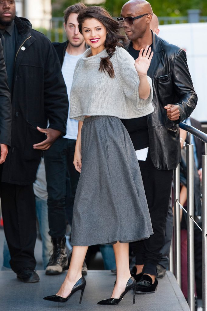 Selena Gomez in the Fall Crop Top – Vogue