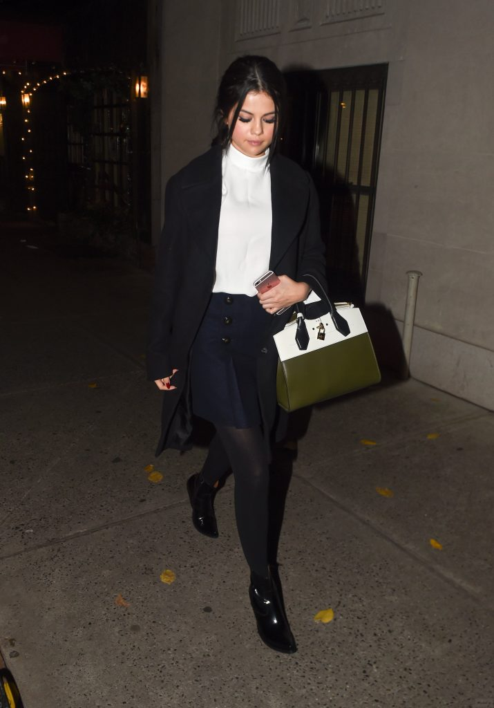 Selena Gomez in the Simple, City Look – Vogue