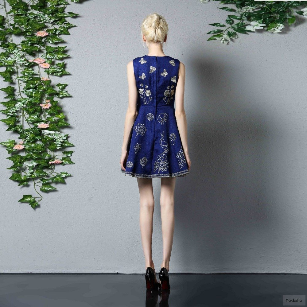 Aliexpress.com : Buy Cute Vintage Dress 2017 Summer New Fashion …