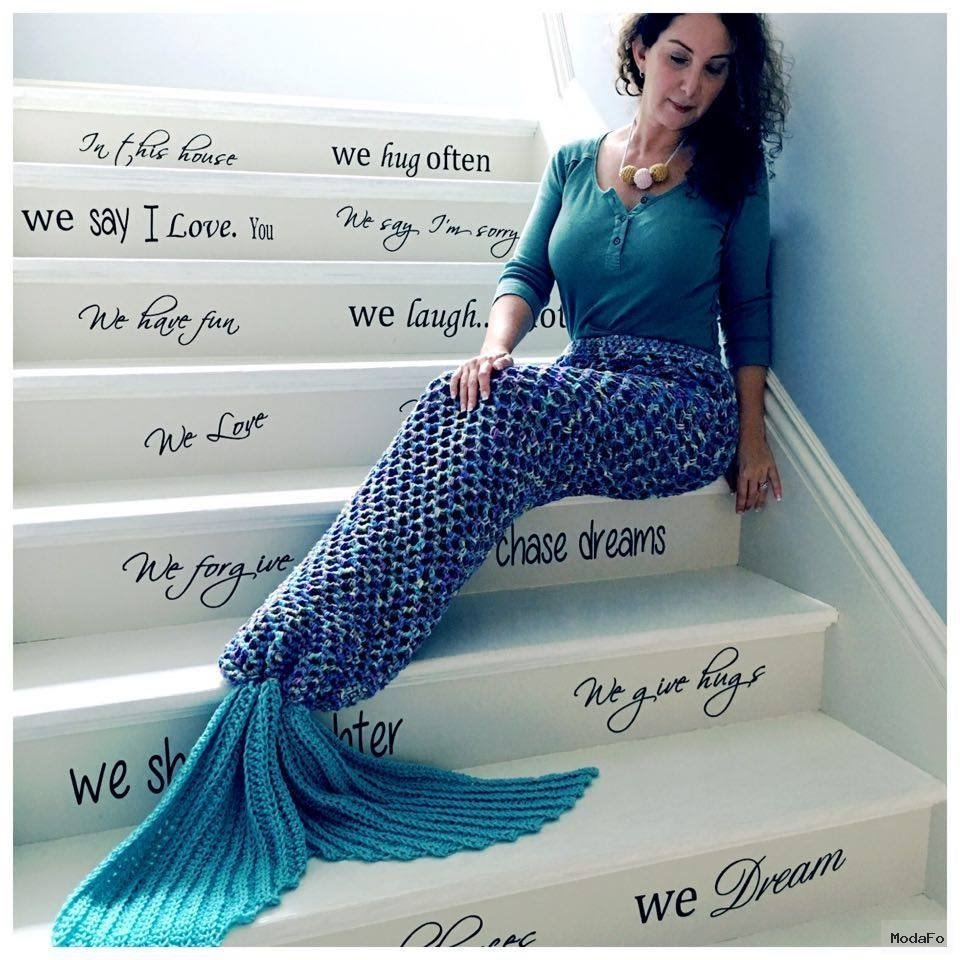 Crochet Mermaid Tail Adult Size – YouTube