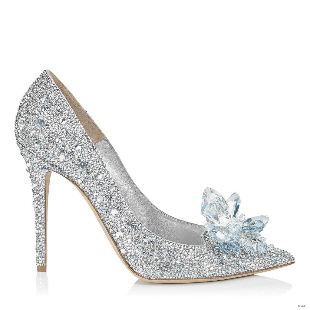 Crystal Covered Pointy Toe Pump 'Cinderella Slipper' | Cinderella …