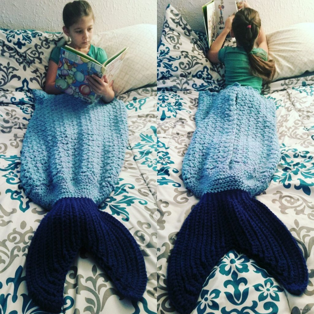 Custom Crochet Mermaid Tail Blanket Size Child · Love & a Cupcake …