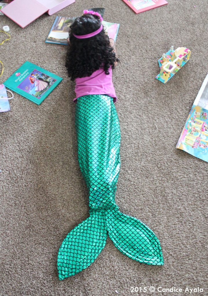 I MADE A MERMAID TAIL! | Candice Ayala