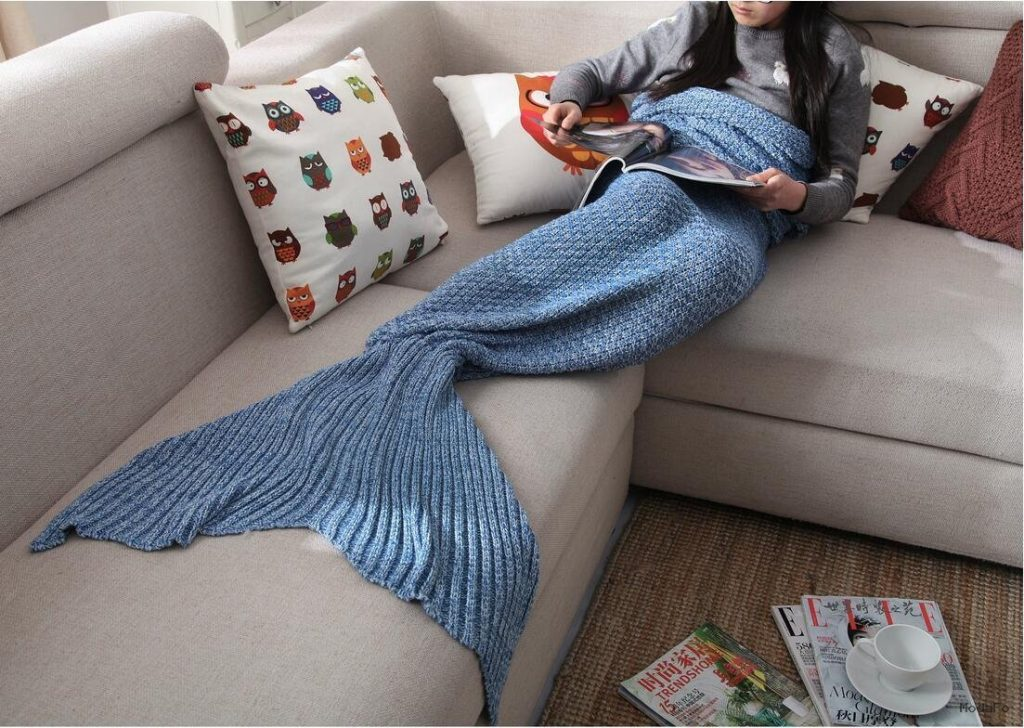 Mermaid Tail Blanket – Got Cash… Buy This! The Unique Online Mall