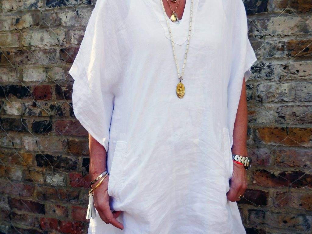 Park in Primrose: How to Wear a Kaftan Everyday