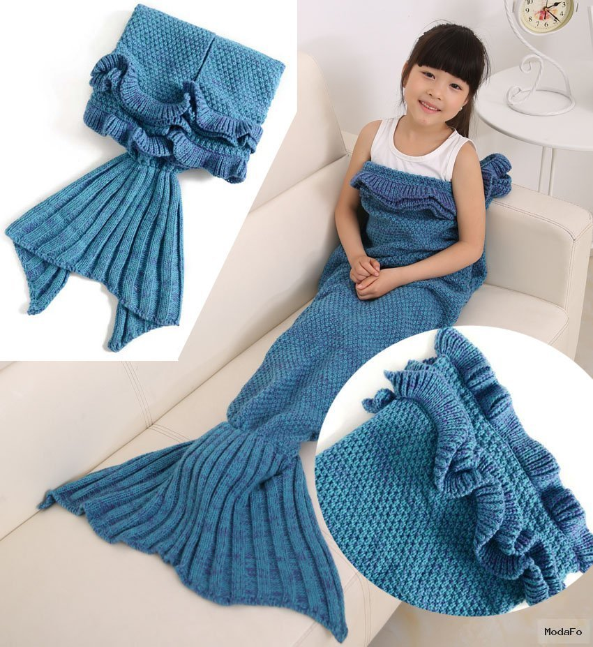Popular Blankets Crocheted Mermaid Tails-Buy Cheap Blankets …