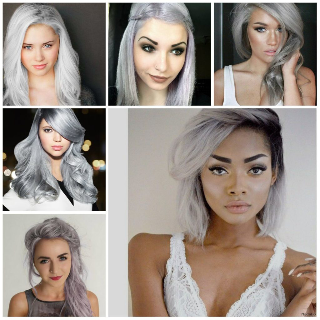 Silver Hair Colors | Organic Hair colors 2016, Trends and Ideas …