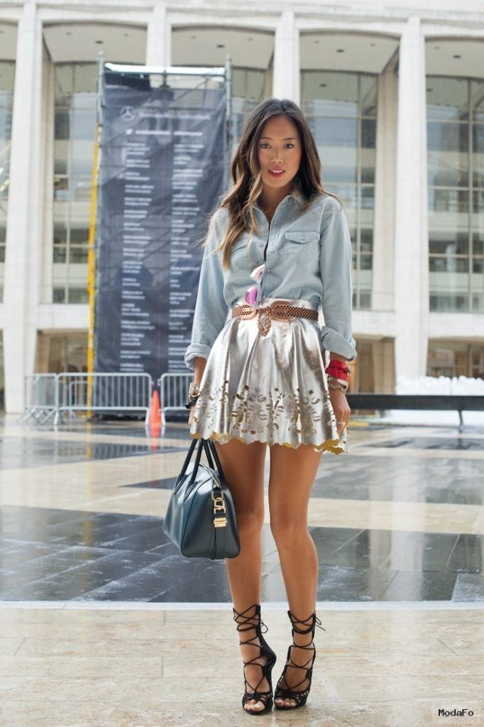 Metallic Pieces to Add to Your Wardrobe | Aelida